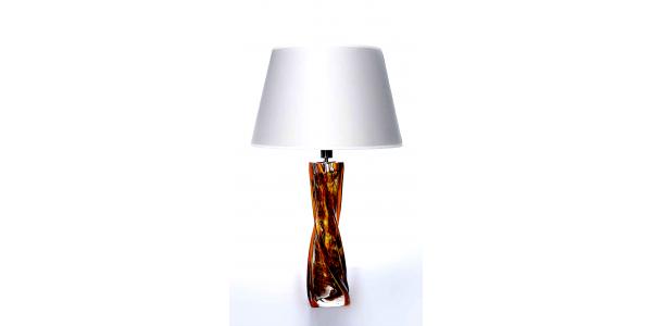 Topaz Spiral Crystal lamp