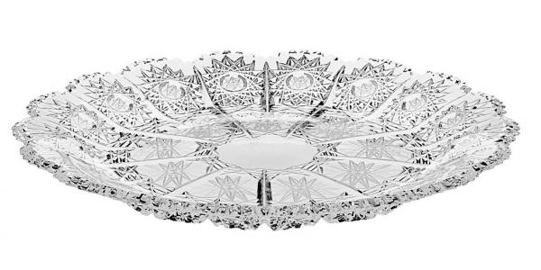 Хрустальная тарелка LAURA