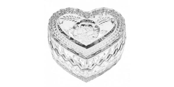 Хрустальная шкатулка HEART II