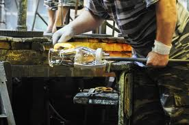 процесс ручного изготовления Хрусталя